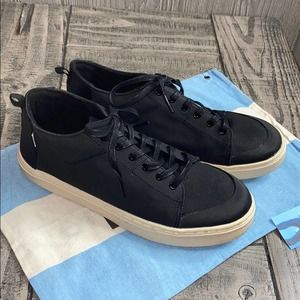 Toms Canvas Paseo High Top Sneakers Y5.5 NWT